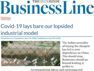 Covid-19 lays bare our lopsided industrial model