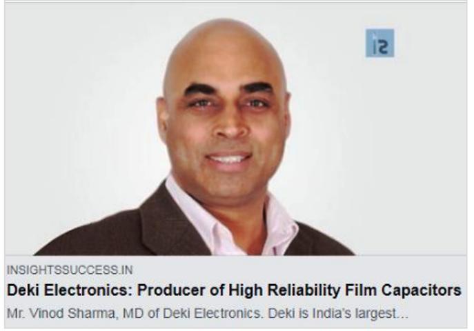 An Interview ofMr. Vinod Sharma